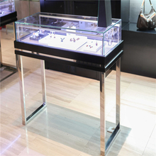 Wholesale glass display cases, Jewelry stand watches kiosk