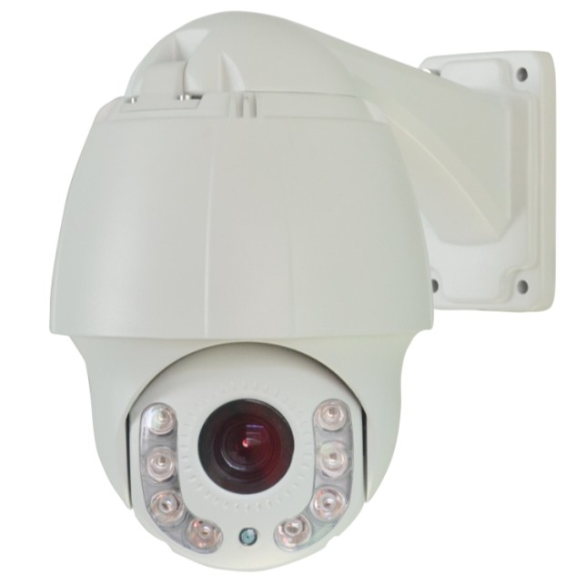 "Outdoor 4.5"" 2.0 Megapixel PTZ 10x optical zoom IP Mini High Speed Dome Camera"