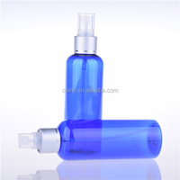 100ml 150ml 200ml personalized cosmetics plastic spray bottle pet blue