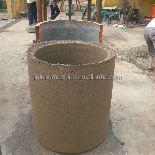 concrete pipe tube making machinery (pipe diameter from 200mm to 1000mm)