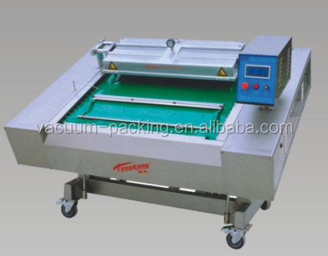 Automatic continuous vacuum packing machine for chicken wings