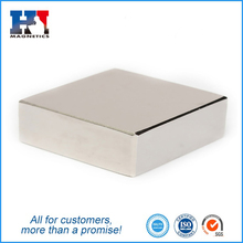 N45 40x40x10mm Rare Earth Neodymium Sintered Bar Magnet for Sale