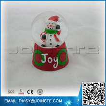 SZ8078-130239 moving musical father christmas souvenir water ball
