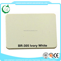 Ivory white design ACP panel wall cladding aluminum composite panel for decoration