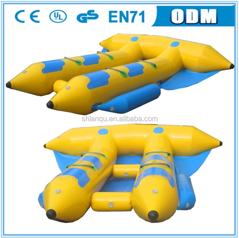 PVC Inflatable Flying Fish Tube Towable