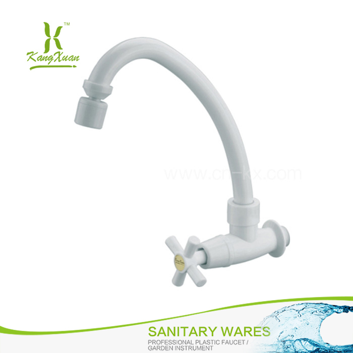 Abs Plastic Cold Water gooseneck kitchen tap