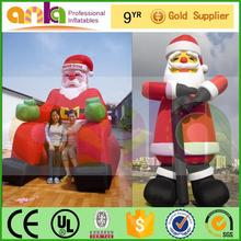 Focus on Inflatable santa claus figure with short lead time