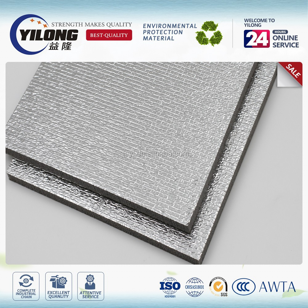 Quotation double faced thermal foil insulation epe polyethylene foam