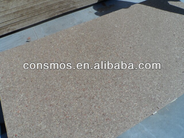 Cosmos brand QSB /Melamine paper faced QSB for furniture