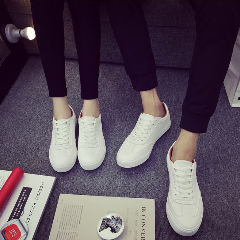 d47515a 2017 Hot selling spring new design women and men single shoes plus size 35-44 casual couple Sneakers
