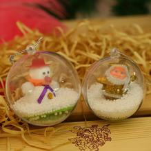 High Quality Christmas Ball, Wholesale Clear Glass Christmas Ball Ornaments