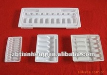 extrusion pharmaceutical white PVC rigid film for injection tray, syringe india, south America