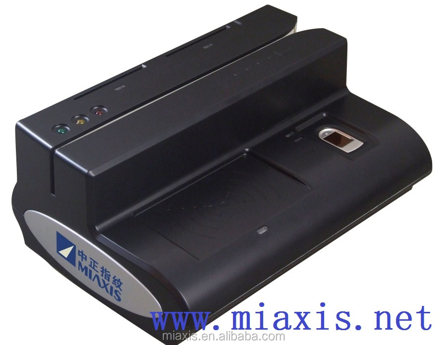 MR-500D smart card reader sam slot 5-in-1 for bank teller biometric contact card reader