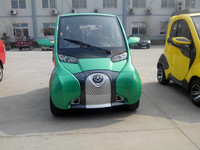 DOT approved 4.5KW motor two seats electric vehicle for US market