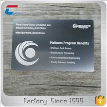 Cheap customized stainless steel metal business card