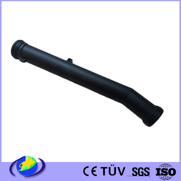 water intake automotive injection molding pipe ABS PA66 PVC plastic products customized