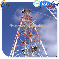 4 legs telecom microwave communication towers