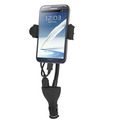 Car Phone Holder Charger, Mobile Phone Accessories Charger 2 USB
