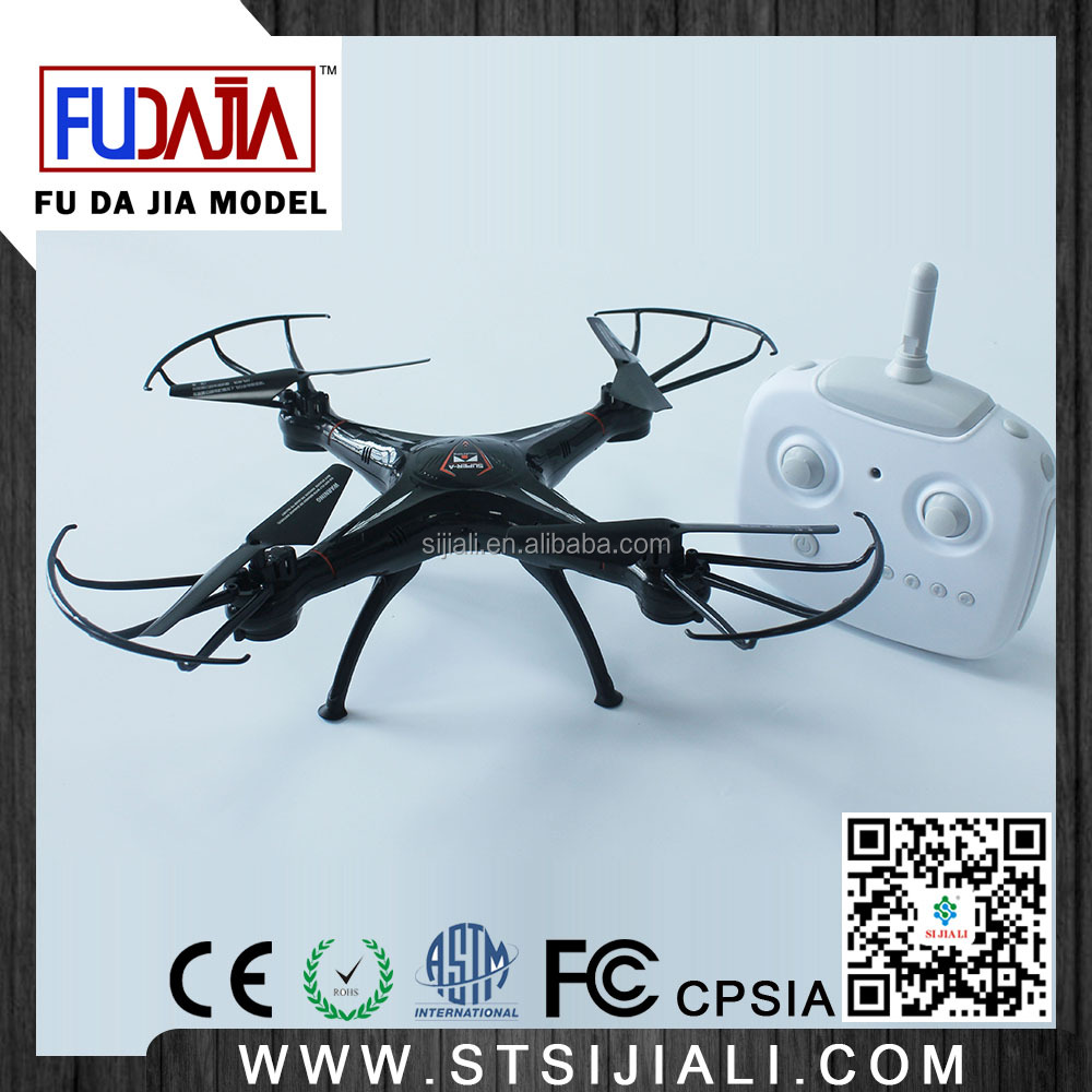 FUDAJIA 2.4G 4 Axis 4CH RC UAV Quadcopter Drone With Video Camera