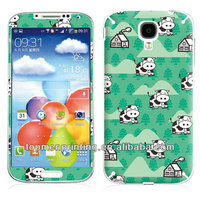 Cartoon house and cute cow on grass land 3m vinyl full body cover skin sticker for samsung galaxy s4