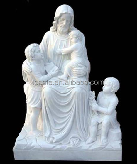 A Grade White marble stone carving and sculpture on sale