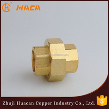 High quality Brass unfixed coupling pipe fitting