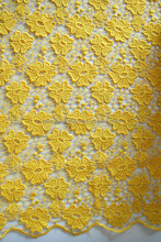 2014 fashion beautiful flower water soluble lace fabric /chemical lace fabric/Guipure lace,more color to choose