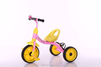 Hot sale foot power car children tricycle toy ride on car with water bottle for best quality and low price