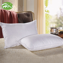 White Cheap Wholesale Fiber Fill Decorative Throw Hotel Bedding Pillow Insert