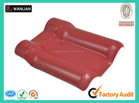 Synthetic resin spanish clay roof tile for vila