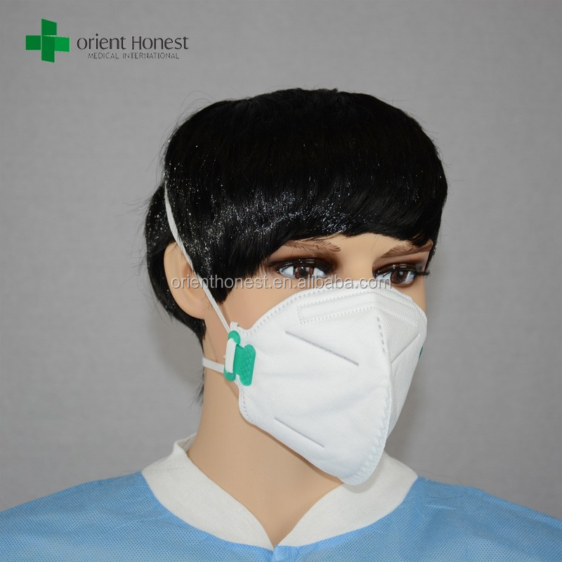 Chemical protection fold flat dust n95 mask
