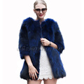 CX-G-A-18 2017 Latest New Design Women Fashion Fur Coat, Raccoon Fur Coat,New Style Fur Coat