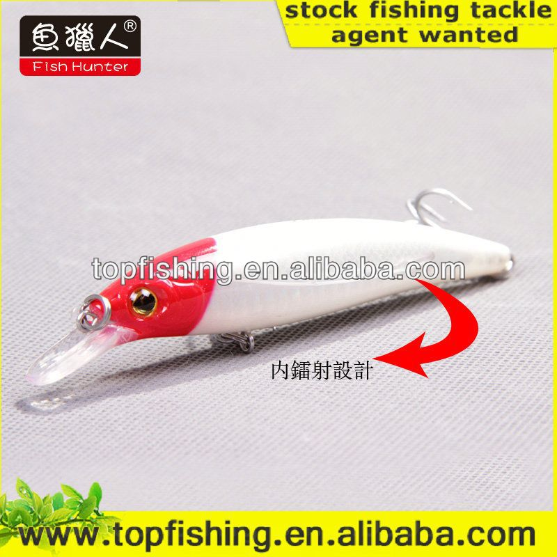 115mm 25g weihai wholesale hard plastic minnow wobbler lure salmon fishing lures