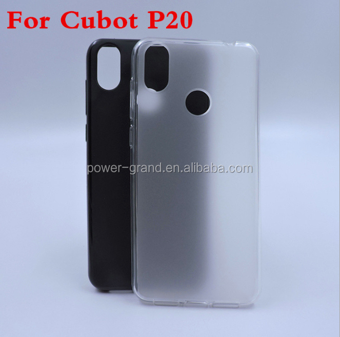 Soft Frosted Pudding TPU phone protective case cover for Cubot P20