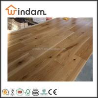 120mm wide Oak Solid Hardwood Flooring