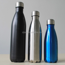Swig Savvy 17oz Stainless Steel Insulated Water Bottle Condensation Free with Vacuum Double Wall Construction. Cola Shaped, Perf