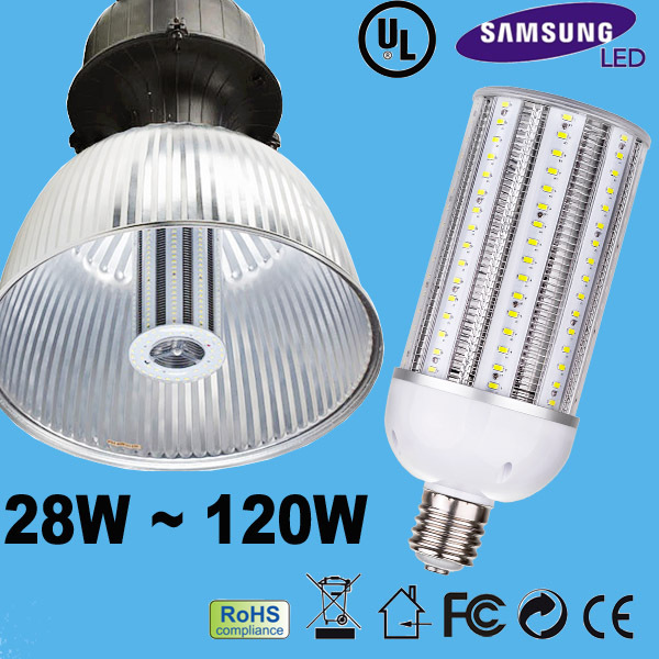 high quality E40 Led Corn Light 120w led replacement high bay 500w
