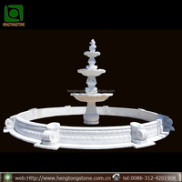 Garden Classical Fish Water Fountain For Decor
