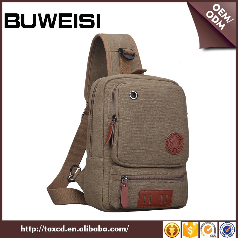 Wholesale sling backpack customized laptop sling bag for school