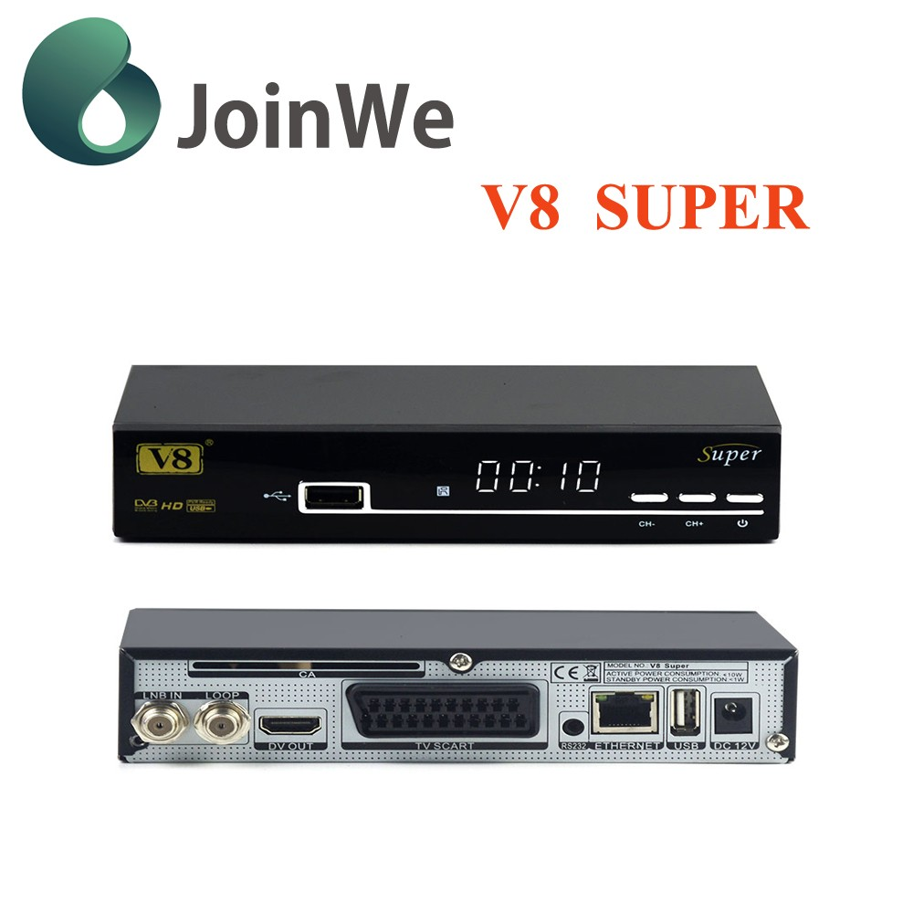Good satellite tv recevier V8 Super Power vu HD receiver HD dvb-s2 mpeg4 hd receiver freesat v8 super