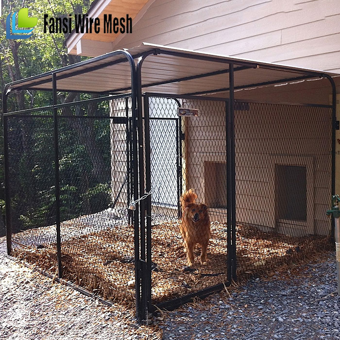high qaulity galvanized cheap dog kennel buildings for sale