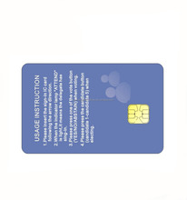 Hot sale Free Sample Standard Size PVC smart dual frequency rfid card