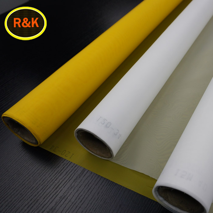 Plain Weave Monofilament Micron Polyester Silk Screen Printing Mesh