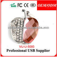 Oem factory china crystal usb flash drive 16gb usb