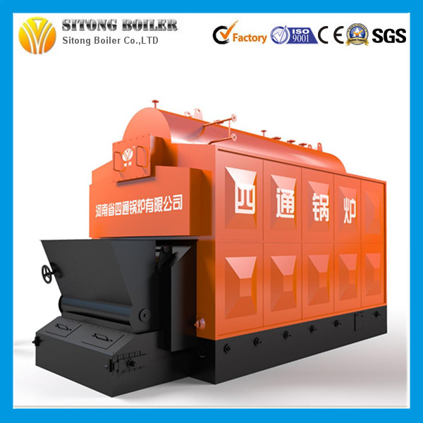 Use for Fertilizer Factory Capacity 1-15tph Coal / Walnut Shell Steam Boiler