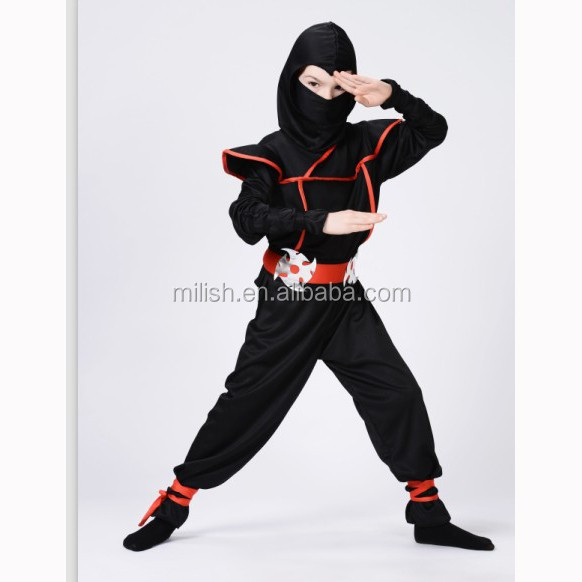 Party halloween kids children boy japanese ninja fancy dress costume MAC-78