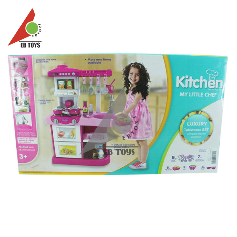 Simulation kitchen toy cheap kids plastic toy mini kitchen for Cheap kids kitchen set