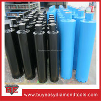 Turbo and rooftop segments 52-355mm segmented diamond core bit for concrete asphalt and granite