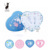 2018 tik top hot sale Baby Art Colorful Cute Design Baby Footprint Kit With Photo Frame
