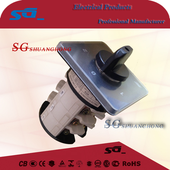 SGW Rotary Switch/Isolator Switch LW26 Cam Change over Switch